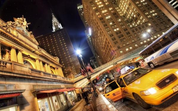 Нічний Нью-Йорк