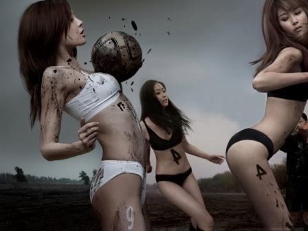 Дівчата і футбол