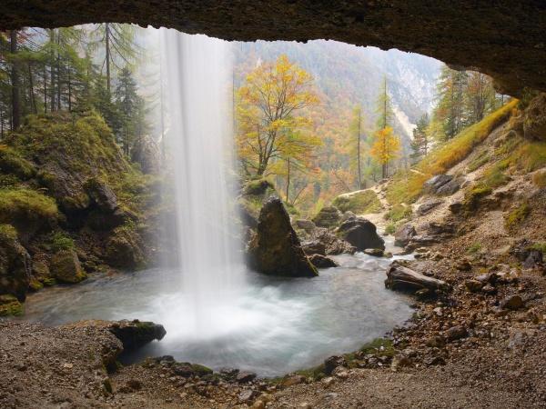 Гірський водопад