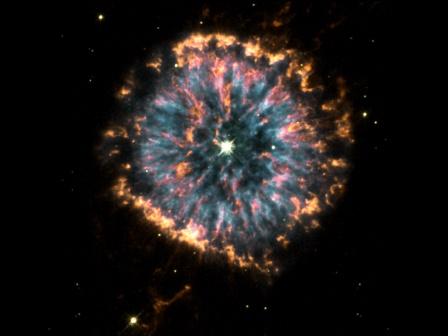 the Glowing Eye Nebula