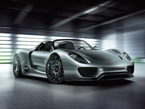 Porsche 918 Spyder Concept 2011