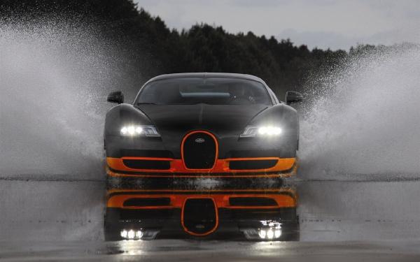Bugatti Veyron 16.4 Super Sports Car