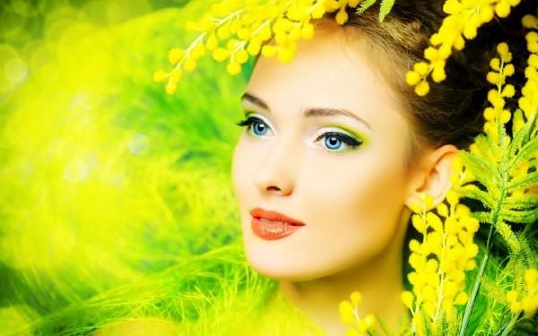 Дівчина-весна