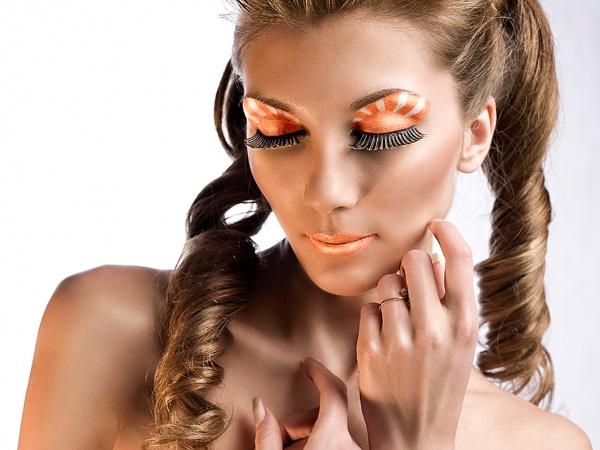 Сонячний макіяж