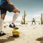 Футбол в пустелі
