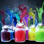 Грайливі фарби