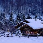 Хатина в горах