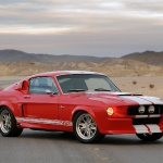 Mustang Fastback Shelby GT500CR 1967