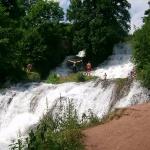 Водоспад на Тернопільщині біля Червоноградського Замку
