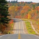 Дорога восени