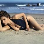 На пляжі